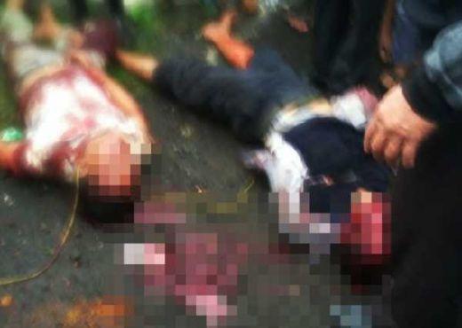 Gasak Warung di Pasar, Dua Maling Dihajar Massa hingga Bermandikan Darah