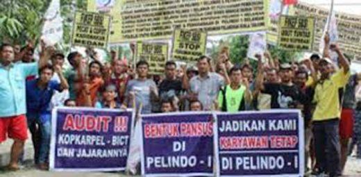 Jalan Kaki dari Medan, Ratusan Buruh Nyaris Berenang Seberangi Selat Sunda Agar Bisa Bertemu Jokowi