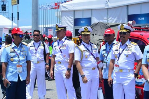 Wakasal Hadiri Pembukaan Langkawi International Maritime And Aerospace Exhibition
