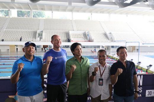Sebanyak 400 Perenang Tampil di 1st South East Asian Master Swimming Championship 2019.
