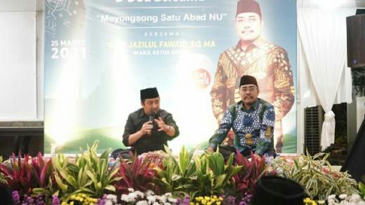 Yusuf Mansyur Doakan Gus Jazil Jadi Ketua PWNU DKI Jakarta