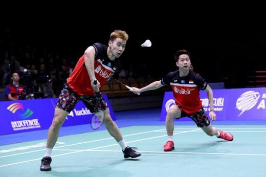Atasi Jepang, Kevin-Marcus Melesat ke Final
