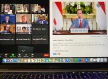 DEN Paparkan Transisi Energi Indonesia di KTT Iklim Gagasan AS
