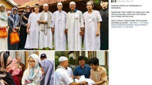 Begini Suasana Pertemuan KH Arifin Ilham dengan Para Pembuat Video Parodi Poligami yang Menyindirnya