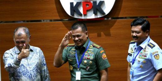 Berantas Korupsi Panglima TNI Gandeng KPK: Pembelian Alat Alutsista Lahan Basah Oknum Tentara dengan Sipil