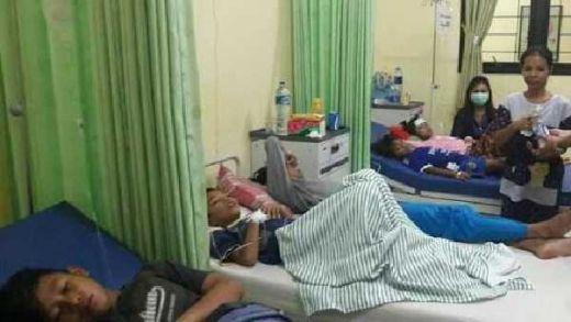 Waduh... Puluhan Warga Bogor Keracunan Keong Sawah