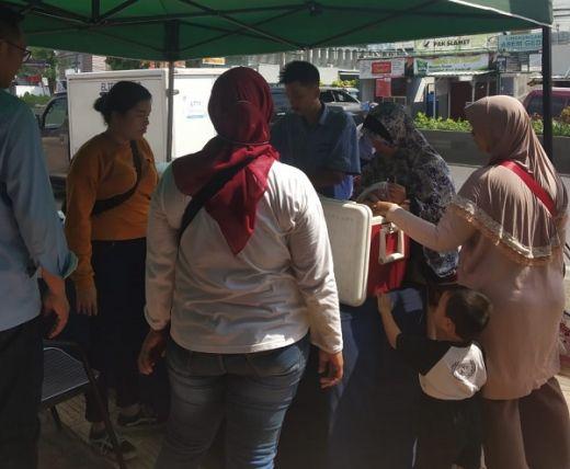Operasi Pasar Murah Polda Banten dan PT Indoguna Utama Jual Daging Sapi Rp 80.000/Kg