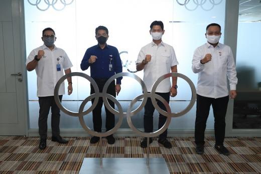 NOC Indonesia Gandeng TVRI Sosialisasikan Tuan Rumah Olimpiade 2032