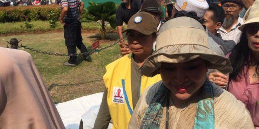 Titiek Soeharto Muncul di Sekitar MK: Semoga Hakim Memutus Seadil-adilnya