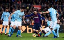 Demi Poin Penuh, Celta Vigo dan Barcelona Saling Bunuh