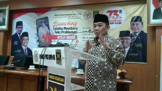 Lomba Baca Teks Proklamasi Mirip Bung Karno, PKS: Kita Ingin Menghidupkan Semangat Patriotisme