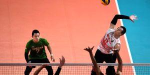 Bungkam Thailand, Tim Bolavoli Putra Indonesia ke Perempatfinal