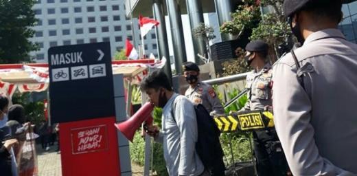 Desak Batalkan Pembangunan KIT Pekanbaru, Mahasiswa di KPK: Firdaus Bohongi Pemerintah Pusat