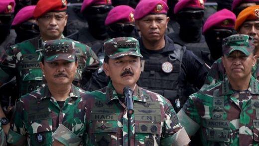 Panglima Ancam Siapa Pun Berniat Gagalkan Pelantikan Presiden Akan Berhadapan dengan TNI