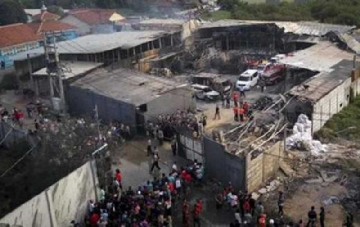 Waduh... Ternyata Korban Kebakaran Pabrik Kembang Api Belum Terdaftar BPJS