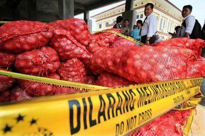 5 Kawanan Pencuri di Kendal Jawa Tengah, Gasak 5 Kuintal Bawang Merah