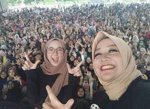 9 April ke Palembang, Duet Prabowo-Sandi Hadirkan Nissa Sabyan
