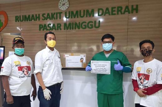 Bamsoet Kembali Kirim Ribuan APD ke 79 Rumah Sakit di Indonesia