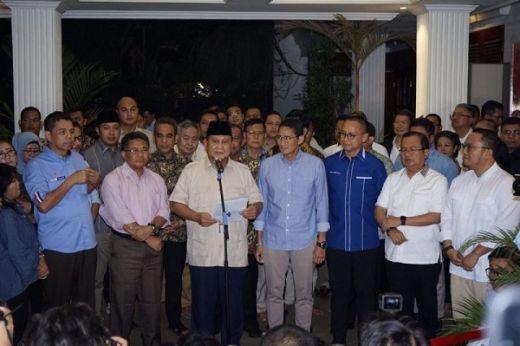 Pesan Prabowo ke Pendukung: Kita Harus Mementingkan Keutuhan Bangsa dan Negara