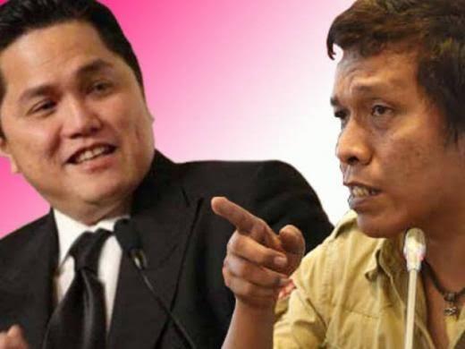 Minta Adian Berhenti Serang Erick Tohir, Anas Nasikhin: Sudahilah Gaya Preman