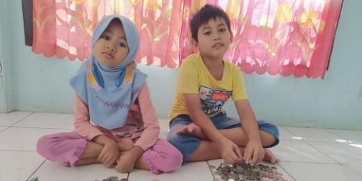 Beli Kambing Kurban, Bocah SD di Palembang Ini Sisihkan Uang Jajan Selama 3 Tahun