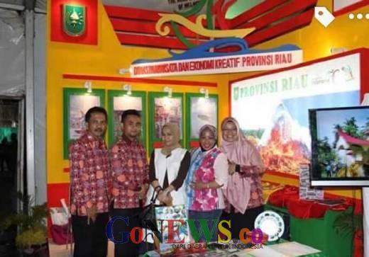 Promosi Wisata Riau di Sanur Village Festival Bali, Rata-rata Bule Kepincut Wisata Bono