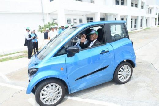Berbadan Kecil dan Bisa Berenang di Air, Mobil Listrik Fomm Dianggap Tepat Mengaspal di Indonesia