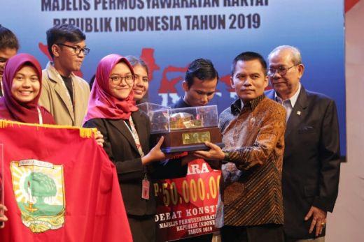 Universitas Sumatera Utara Juara Satu Debat Konstitusi MPR