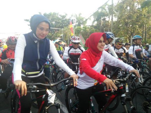 Anggota DPR RI Apresiasi Program Sepeda Nusantara Kemenpora