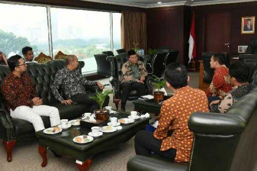 Ingin Deklarasi Hari NKRI 3 April 2020, TIDI Sambangi Pimpinan MPR