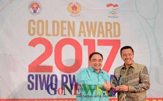 SIWO PWI, Nobatkan Menpora sebagai Tokoh Penyambung Tradisi Emas Olimpiade