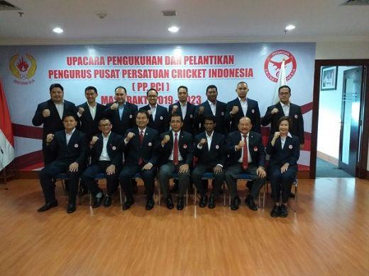 KONI Pusat Akui Olahraga Cricket Berkembang Dipimpin Aziz Syamsuddin