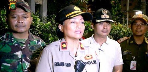 Disebut Usir Relawan PKS Dan FPI, Begini Penjelasan Kapolsek Pancoran Kompol Endang