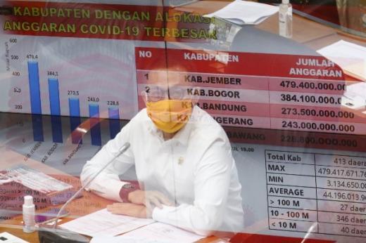 Herman Herry Dukung KPK Awasi Rp 405, 1 Triliun Anggaran Penanggulangan Covid-19