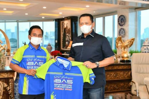 Terima Ibas Racing Team, Bamsoet Dorong Lahirnya Pembalap Wanita Berprestasi