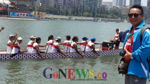 Amazing, Tim Dragon Boat Indonesia Pertajam Waktu di MIDBR