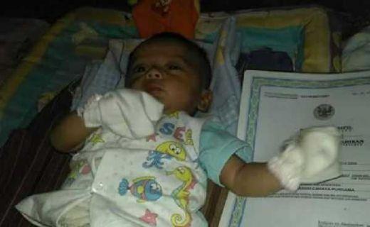 Mengaku Terinspirasi dengan Ahok, Bayi Ini Diberi Nama Basuki Cahaja Purnama