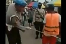 Polisi yang Pukul Warga saat Patroli Protokol Kesehatan Diperiksa Propam