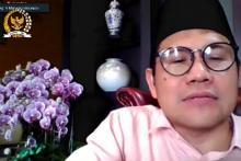 Rapat Timwas Covid-19 DPR dengan BPK, Cak Imin Singgung Kewenangan Pemerintah tak Terkontrol