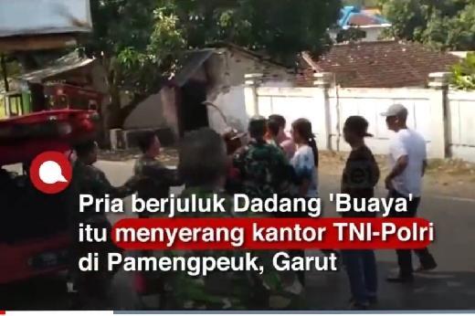 Asal Mula Buaya Ngamuk di Markas TNI