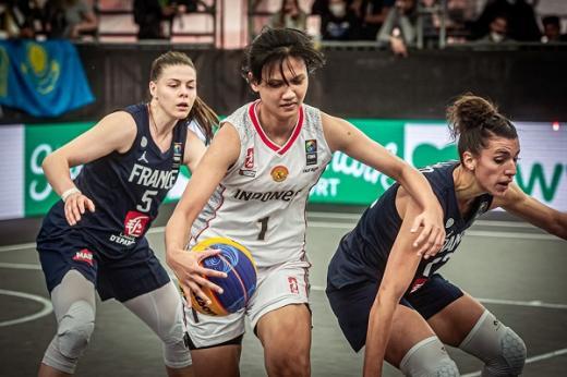 Indonesia Tundukkan Uruguay di Turnamen FIBA 3x3 Kualifikasi Olimpiade Tokyo