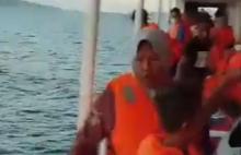 81 Penumpang KM Karya Indah Yang Terbakar di Laut Malut Dikabarkan Selamat