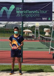 Nathan Anthony Barki Kembali Berjaya di Singapura