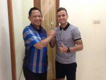 Pemaian Portugal Paulo Sergio, Akhirnya  Dikontrak Bhayangkara FC