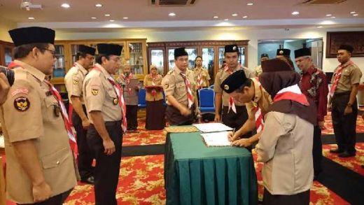 Kwarnas Gerakan Pramuka Resmikan Gudep di KJRI Johor Bahru, Malaysia