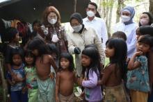 Tak Tepati Janji Berikan Bansos, Suku Anak Dalam Sebut Menteri Risma Cuma Pecitraan