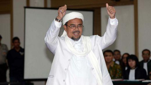 Resmi Jadi Tersangka, Pesan Habib Rizieq untuk Media di Indonesia: Jangan Bikin Berita Pelintiran