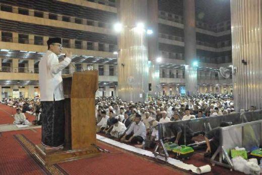Ceramah di Istiqlal, Ketua MPR: Umat Harus Unggul di Bidang Iptek dan Ekonomi