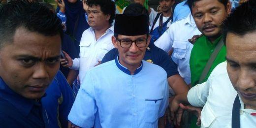 Heboh soal Referendum, Sandiaga Imbau Masyarakat Aceh Jaga NKRI