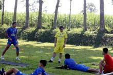 Enam Pemain Arema FC Cedera Jalani Latihan Intens